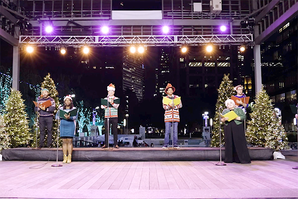 Carols on the Green in collaboration with The Houston Grand Opera
