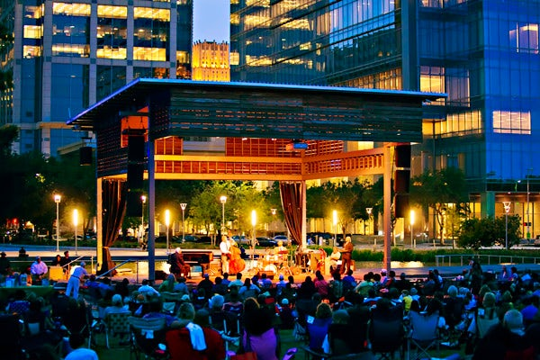 Anheuser-Busch Stage -Discovery Green, Houston, Texas
