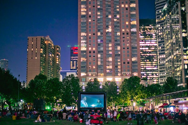 Bank of America Screen on the Green