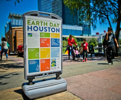 Earth Day presented by Green Mountain Energy