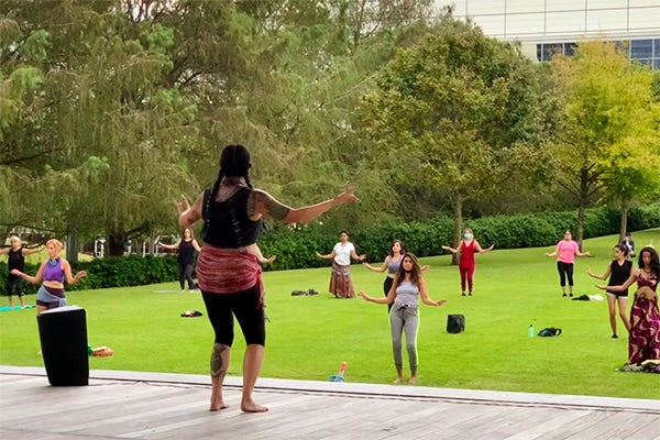 Online: Fusion Belly Dance Class
