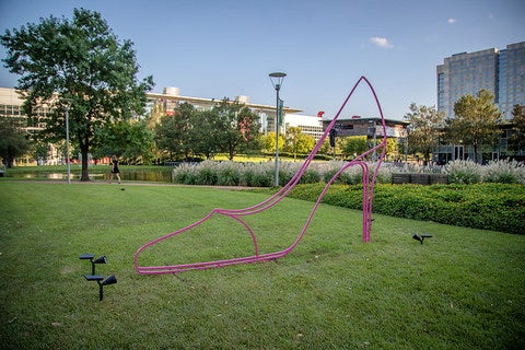 The Shape of Things: Michael Craig-Martin at Discovery Green®