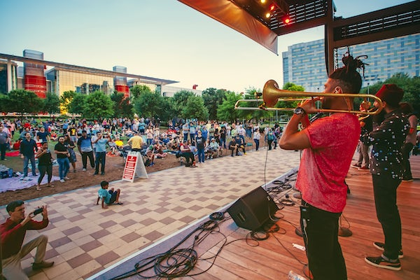 Updated: Unplugged at Discovery Green